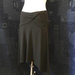 Skirt or Halter Black Asymmetric Loveliness